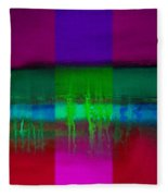Cardinal Landscape Fleece Blanket