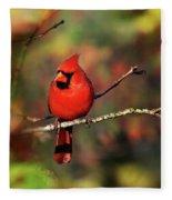 Cardinal Territory Fleece Blanket