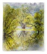 Caress In The Mist Fleece Blanket