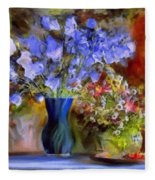 Caress Of Spring - Impressionism Fleece Blanket