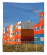 Cargo Homes Fleece Blanket