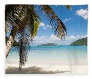 Caribbean Afternoon Fleece Blanket