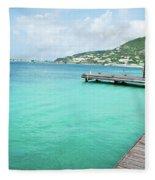 Caribbean Dream Fleece Blanket
