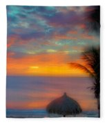 Caribbean Dreams Fleece Blanket
