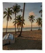 Caribbean Life Fleece Blanket