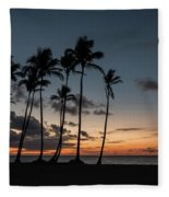 Caribbean Sunrise Fleece Blanket