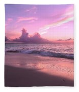 Caribbean Tranquility  Fleece Blanket