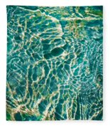 Caribben Waters Fleece Blanket