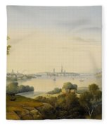 Carl Abraham Fleece Blanket