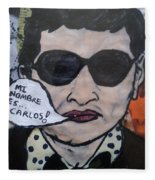 Carlos The Jackal Fleece Blanket