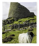 Carloway Broch Fleece Blanket