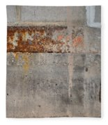Carlton 16 Concrete Mortar And Rust Fleece Blanket