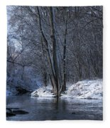 Carleton Place On The Mississippi - 125 Fleece Blanket