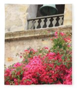 Carmel Mission Bell Fleece Blanket