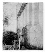 Carmel Mission Cemetery Fleece Blanket