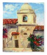 Carmel Mission, Summer Fleece Blanket