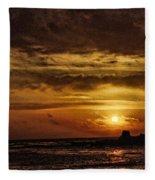 Carmel Sunset Fleece Blanket