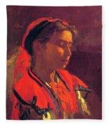 Carmelita Requena 1870 Fleece Blanket