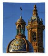 Carmen Chapel Seville Spain Fleece Blanket