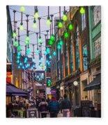 Carnaby Street London Fleece Blanket