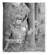 Carnevale Veneziano Fleece Blanket