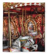 Carnival - The Carousel Fleece Blanket