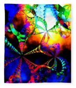 Carnival Ride Fleece Blanket