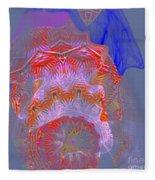 Carnival Abstract 3 Fleece Blanket