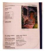Carole Spandau Listed In Magazin'art Biennial Guide To Canadian Artists In Galleries 1996-1997 Edit Fleece Blanket
