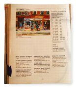 Carole Spandau Listed In  Magazin'art Biennial Guide To Canadian Artists In Galleries 2000-2001 Edit Fleece Blanket