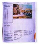 Carole Spandau Listed In Magazin'art Biennial Guide To Canadian Artists In Galleries 2002-2003 Edit Fleece Blanket