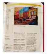 Carole Spandau Listed In Magazin'art Biennial Guide To Canadian Artists In Galleries 2009-2010 Edit Fleece Blanket