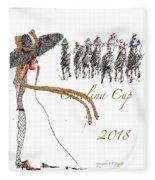 Carolina Cup  Fleece Blanket