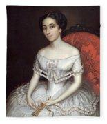 Carolina Gutierrez De La Fuente Fleece Blanket