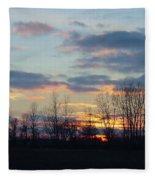 Carolina Sunset Fleece Blanket