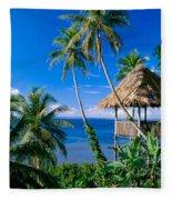 Caroline Islands, Pohnpei Fleece Blanket