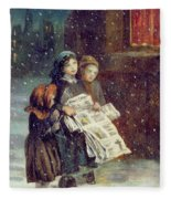 Carols For Sale  Fleece Blanket