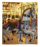 Carosel Horse Fleece Blanket