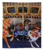 Carousel Fleece Blanket