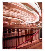 Carousel Lights #2 Fleece Blanket