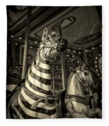 Carousel Zebra Fleece Blanket