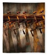 Carpenter  - Saws And Braces  Fleece Blanket