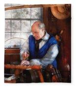 Carpenter - The Woodturner Fleece Blanket