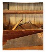 Carpenter's Toolbox - Not Free Do Not Copy Fleece Blanket