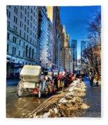 Carriage Ride Fleece Blanket