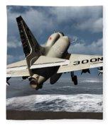 Carrier Launch Fleece Blanket