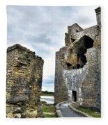 Carrigafoyle Castle - Ireland Fleece Blanket