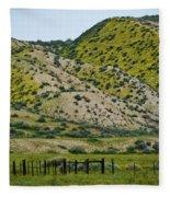 Carrizo Plain Daisy Hills Fleece Blanket