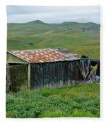 Carrizo Plain Ranch Fleece Blanket