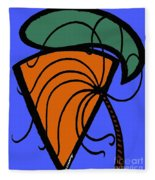 Carrot And Stick Fleece Blanket
